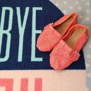 TOMS Toddler Girl Shoes
